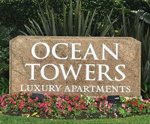 Community Signage, Huntington Beach Ocean Towers