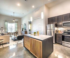 Kitchen, Lakeview Apartments