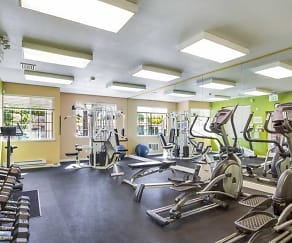 Fitness Weight Room, Los Gatos Creek