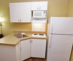Kitchen, Furnished Studio - Livermore - Airway Blvd.
