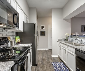 Kitchen, Preserve at Westover Hills Apartments