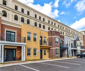 Building, The Residences at Carmel City Center