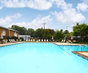 Pool, Andover Apartments