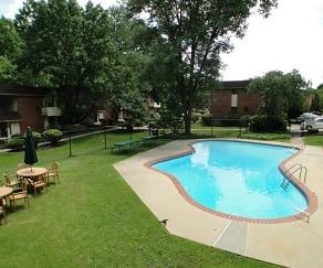 Pool, CV Apartments at Glenolden Station