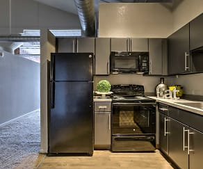 Kitchen, Park Lofts