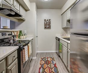 Kitchen, Sedona Apartments