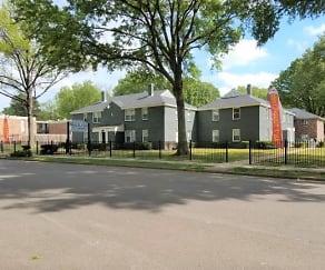 Building, Waring Park Flats