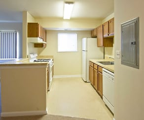 Kitchen, Orchard Landing Apartments