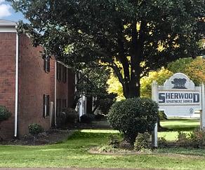 Community Signage, Sherwood Apartments