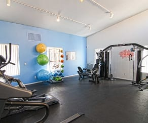 Fitness Weight Room, Flamingo Chateau