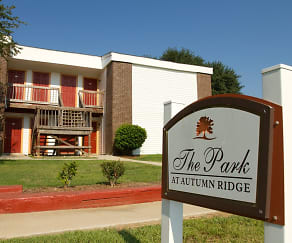 Community Signage, Park At Autumn Ridge