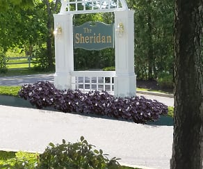 Community Signage, Sheridan Apartments