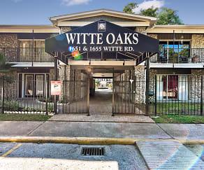 Community Signage, Witte Oaks