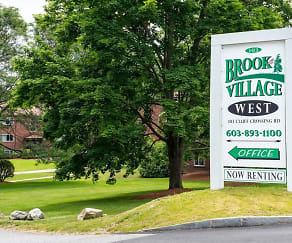 Community Signage, Brook Village West