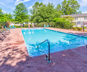 Pool, The River View Apartments