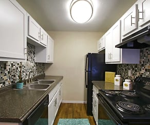 Kitchen, 1550 Apartments