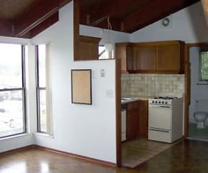 Kitchen, Amber Apartments