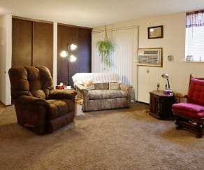 Living Room, Southview Apartments