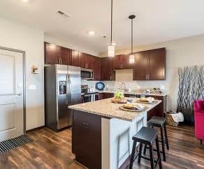 Kitchen, 360 at Jordan West
