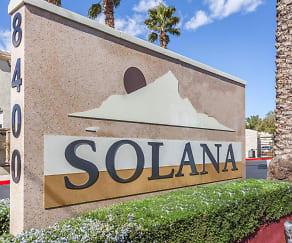 Community Signage, Solana Condominiums