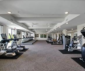 Fitness Weight Room, Avia La Jolla Senior Apartments Phase 2