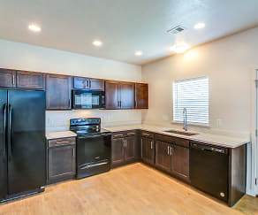 Kitchen, Rockwell Village Townhomes