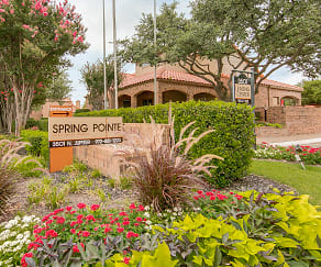 Community Signage, Spring Pointe Apartments