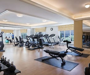 Fitness Weight Room, Sierra Creek Apartment Homes