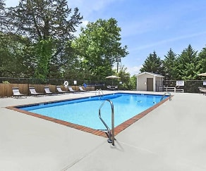 Pool, Ridgeside Apartments