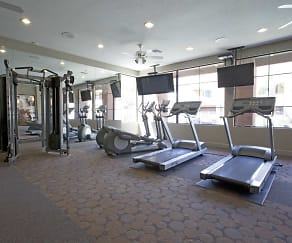 Fitness Weight Room, Pillar at Westgate Townhomes