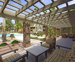 Patio / Deck, The Tides at Paradise Valley