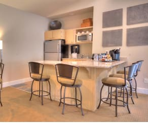 Dining Room, Cascade View Apartments