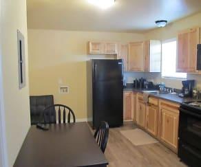 Kitchen, Watford Residence Suites