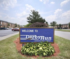 Community Signage, Derby Run Apartments
