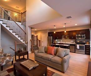Living Room, The Lofts At Saratoga Blvd