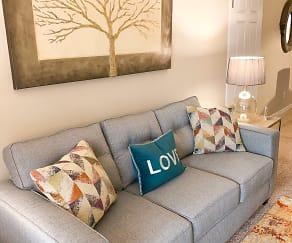 Living Room, Park Village Apartments