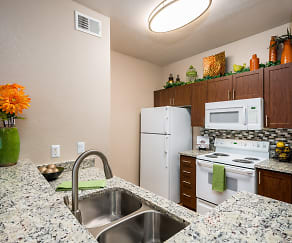 Kitchen, Crescent Cove At Lakepointe