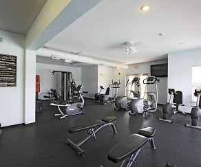 Fitness Weight Room, Pepperwood Apartments