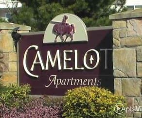 Community Signage, Camelot Apartments