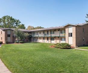 Building, Plymouth House/Plymouth Manor Apartments