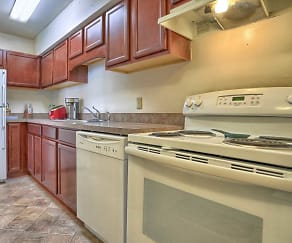 Kitchen, Chateau Terrace Apartments