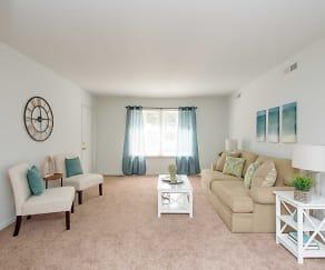 Living Room, Kingstowne Apartments II
