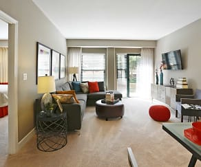 Living Room, The Residences At Capital Crescent Trail