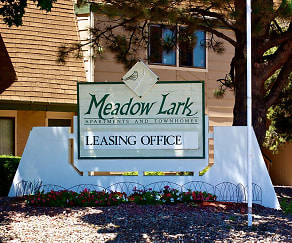 Community Signage, Meadow Lark Apartments