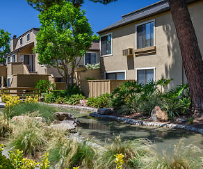 Gorgeous Landscape with Streams, Woodbridge Apartments
