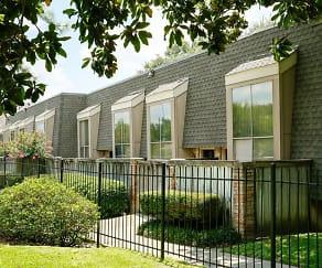 Building, Crest Apartments, The