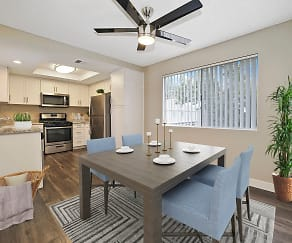 Dining Room, Southridge Apartments