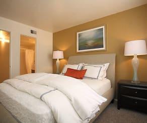 Bedroom, Northridge Court Apartments