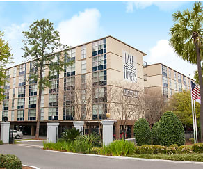 Building, Lake Towers Apartments