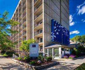 Community Signage, Henry Gilman Apartments